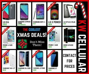 Christmas deals at K.W. Cellular