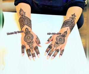 Henna Artistry -Mehendi - Mississauga -(GTA)