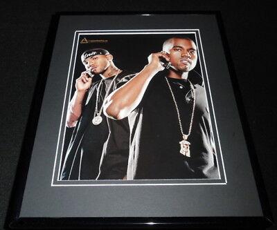 Kanye West 2004 Boost Mobile Framed 11x14 ORIGINAL Vintage Advertisement