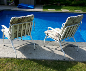 Vintage Patio Chairs *Delivery Available*