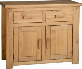 New Solid Block Sideboard SALE £129 in stock now