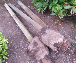 fence repair post  removal $150