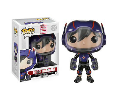 POP! BIG HERO 6 Figur HIRO HAMADA Vinyl Bobble-Head NEU 109 F1-11