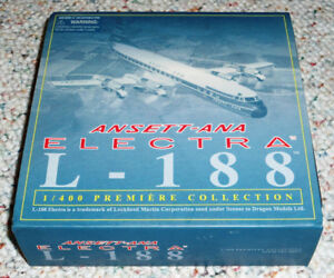 Dragon Wings 1/400 Lockheed L-188 Electra Ansett Airlines