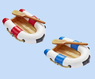 laub Ferien maritime Badezimmerdeko Geschenk Gutschein 7,5cm (Boot Dekorationen)