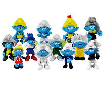 Die Schlümpfe Set  12 Figuren  neu
