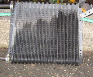 Trans cooler , about 11 inch in size.