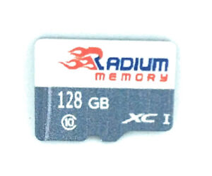 128GB Micro SDXC UHS-I Class 10 Memory Card with Adapter