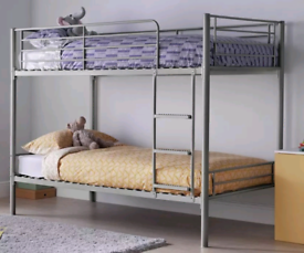 Shorty bunk bed with 1 mattress. Good condition. Delivery available