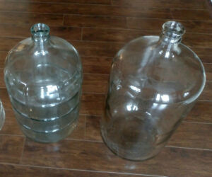Two Glass Carboys with Air Locks - $20 each or 2 for $30