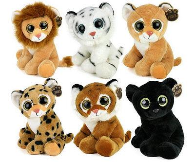 ma Panther Löwe Leopard Löwin Plüschtier Glitter-Eye NEU (Löwe Plüsch)