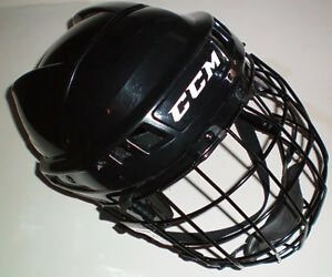 CCM 04 Large Hockey Helmet with CCM FM06 Cage London Ontario image 2