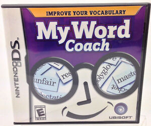 Nintendo DS - My Word Coach - by Ubisoft