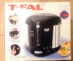 TEFAL AVANTI DEEP FRYER, NEW CONDITION