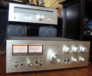 Vintage 1977 Kenwood KA6100 Stereo amplifier