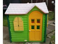 Little tikes playhouse evergreen