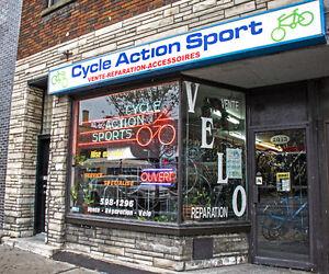 Magasin de vélo à montréal - Cycle Action Sports