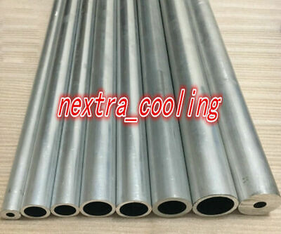 6063 Aluminum Tube Hard Straight Pipe Od 2535384045485157637080102mm