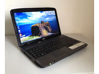 "Could Deliver - Acer Laptop Massive 15.6""- Intel Core 2.2Ghz, Intel Graphics, WiFi, Office, Webcam"