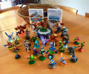 Skylanders & Skylanders Giants Wii games