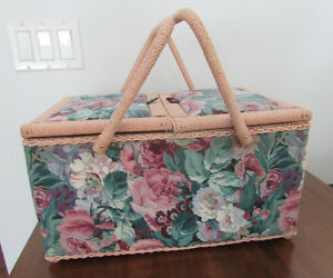 SEWING BASKET - Like NEW