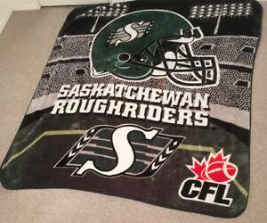Saskatchewan Roughriders Blanket