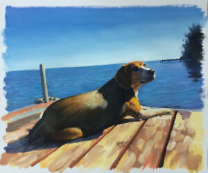 Hand-Painted Oil Portraits of your Pets