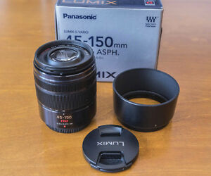 PANASONIC LUMIX G 45-150MM F4-5.6 OIS
