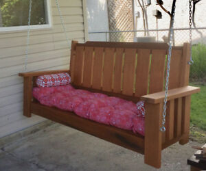 3 Seater Cedar Porch Swings