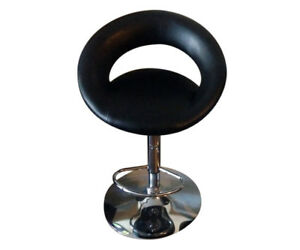 Modern Swivel Bar Stools (2) with Gas Lift by CorLiving - $39