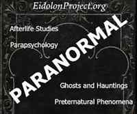 GHOSTS, HAUNTINGS, RED DEER. Eidolon Project Canada