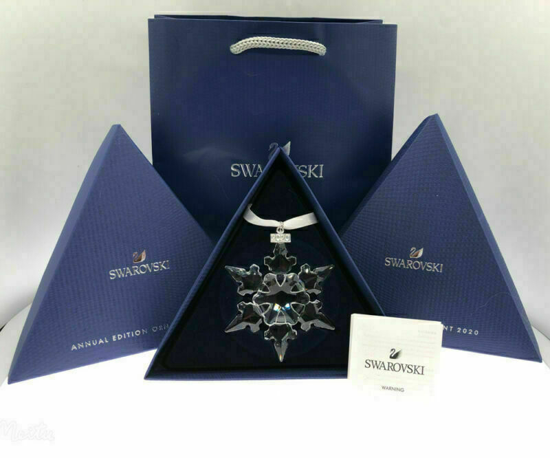 Swarovski Crystal Large-Annual Edition Christmas Ornament 2020 Snowflake 5511041