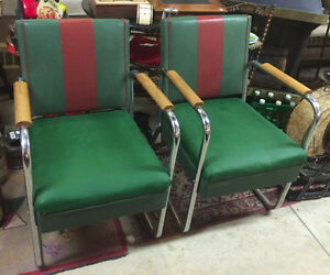★ Vintage 1940's Patio Deck Chairs ★