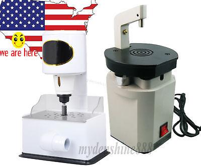 Dental Lab Laser Pindex Drill Pin Driller Machine Grind Model Inner Arch Trimmer