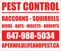 Wildlife and Pest Control Specialists *10+ years of experience*