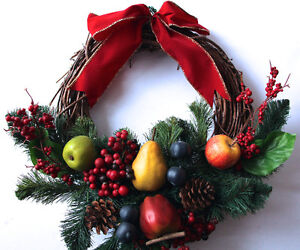 Fruit Christmas Wreath