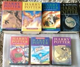 Harry Potter Books Full Set