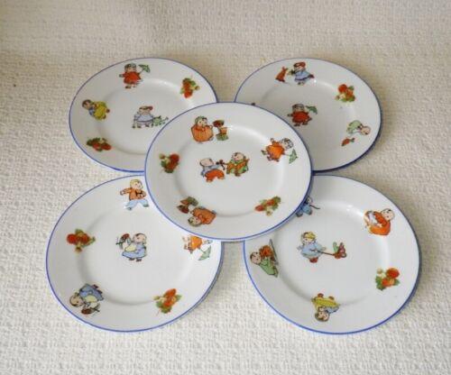 Vintage Porcelain Chubby Children Childs