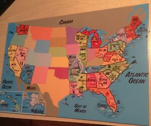 Magnetic Map of the U.S.A.
