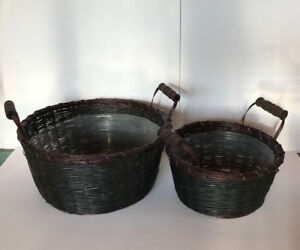 Paniers neufs tout usage - two new baskets for all purpose