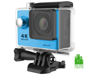 Ultra 4K Wi-Fi Action Camera - Brand new! It's also waterproof!