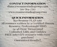 Professional Resume Writing Services by a HR Pro Brockville