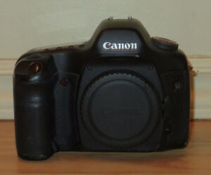 Canon EOS 5D Mark I cameras - as-is (untested, repair or parts)
