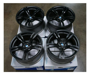 Black bmw rims for sale with winter tires