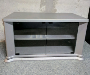 TV Stand (swivels with 2 glass doors)