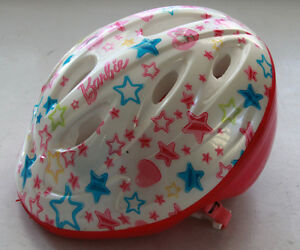 Girl's Barbie Bike Helmet