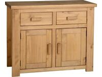 NEW Solid Block Sideboard get it today CLEARANCE £99 in stock now