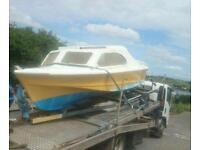 Shetland 535 project solid boat PRICE LOWERD