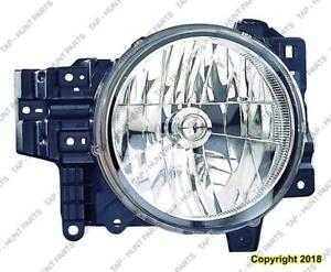 Head Lamp Passenger Side High Quality Toyota FJ Cruiser 2007-2014