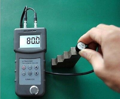 Used, New Digital UM6500 Ultrasonic Thickness Gauge Tester Meter 1.0-245mm/0.05-8inch  for sale  Shipping to Nigeria